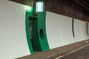 """<div class=""""bildtext_en"""">Brightening up the Heslach Tunnel with Sikagard-260 WPU, a coating, which is open to water vapour diffusion, carbonisation reducing and dirt-repellent.</div>"""