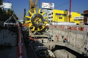 1The 10.2 m diameter EPB is the first of its kind to be assembled onsite using OFTA<br /><br />