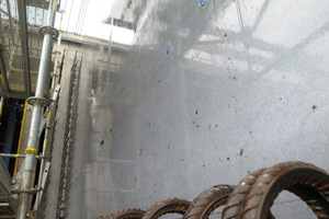 """<div class=""""bildtext_en"""">Xface after 59 concreting pours in the wall of a tunnel formwork</div>"""