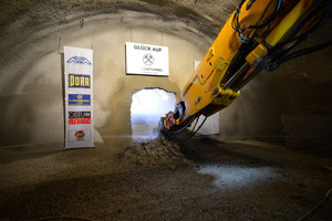 """<div class=""""bildtext_en"""">The breakthrough of the Steinbühl Tunnel was achieved at the Todsburg portal on 21 September 2015</div>"""