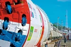 Showing colors: For the first time, Carribbean project owners rely on a Double Shield TBM by Herrenknecht