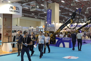 "<div class=""bildtext_en"">Visitors from 20 nations attended the three-day Tunnel Expo in Istanbul, which was staged in conjunction with the Mining Expo in the adjacent fair halls</div>"