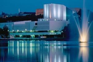 The venue Finlandia Hall in Helsinki