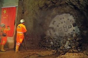 "<div class=""bildunterschrift_en"">China's 25.4 km (15.8 mi) long Pinglu tunnel, excavated with one Robbins TBM, was one of the world's longest single-drive tunnels</div>"