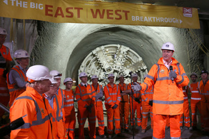 "<div class=""bildtext_en"">At the official breakthrough celebrations on June 4, UK Prime Minister David Cameron pointed out the importance of Crossrail as a vital part of the economy and an incredible feat of engineering</div>"