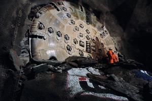 4Durchschlag der TBM in Sigirino<br /><br />
