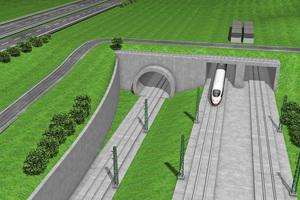 The main construction measures for the Albvorland Tunnel on the new Wendlingen–Ulm route are due to begin in summer 2016 |