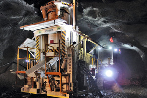 First Shafts in Cadia East Underground Project/Australia