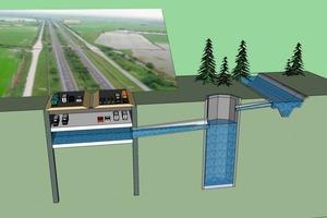 Multipurpose Underground Service Flood Tunnel System (MUSTS)