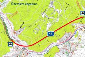 """<div class=""""bildtext_en"""">Work on building the 4.3 km long Hirschhagen Tunnel commenced in early June 2013. It is planned to complete Germany's second longest road tunnel in 2018</div>"""