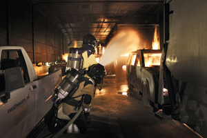 "<div class=""bildtext_en"">Fire-fighters can practice tunnel fire scenarios close to reality in the International Fire Academy's training facilities</div>"