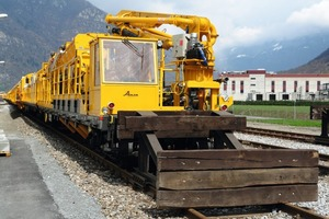 7Cement car of the concrete train for installing the track<br />