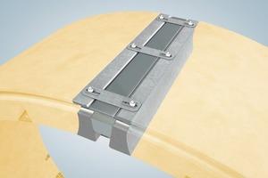 4Longitudinal wedge type adjustable element<br />