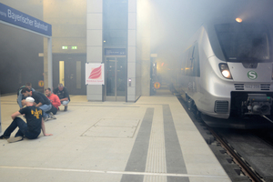 """<div class=""""bildtext_en"""">Leipzig City Tunnel – full-scale fire protection drill with injured persons</div>"""