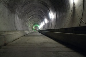 2Completed tunnel bore in the Faido-Bodio West section<br />