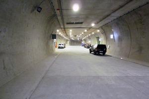 The Pörzberg Tunnel was inaugurated in December 2010