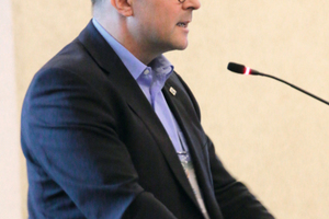 """<div class=""""bildtext_en"""">Robert Galler (Austria), animateur of the Committee for Education and Training (ITA-CET)</div>"""