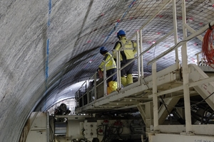 "<div class=""bildtext_en"">The 7.8 km long new Ulriken Tunnel from Arna to Bergen is the first railway tunnel in Norway to be excavated with a TBM (diameter: 9.3 m). The contract has a value of 1.3 billion Norwegian kroner (137 million euros)</div>"