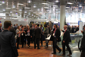 """<div class=""""bildtext_en"""">60 companies presented their products and services on the busy trade exhibition</div>"""