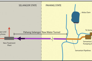 At 44.6 km long, the Pahang Selangor Raw Water Tunnel is one of Southeast Asia's longest<br /><br />