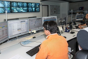 Operations Control Centre in Graubünden