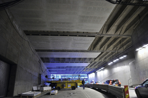 "<div class=""bildtext_en"">When modernizing the Söderleds Tunnel in Stockholm in terms of fire protection Aestuver fire protection boards were used as an alternative to the fire protection plaster originally planned</div>"