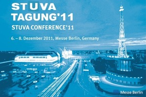 7  The STUVA Conference '11 takes places from December 6 to 8, 2011 in Berlin<br />