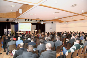 View of the hall for the 2012 Brenner Congress during the symposium at Innsbruck