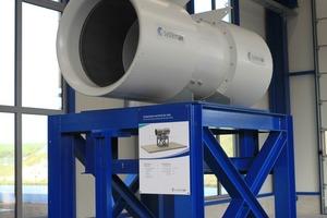 """<div class=""""bildtext_en"""">Thrust test stand for fans of up to 1,600 mm diameter</div>"""