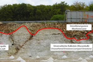 "<div class=""bildtext_en"">13)Karst cavities in the construction pit slope |</div>"