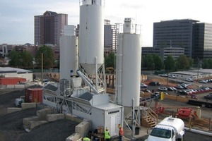 1 Concrete Mixing Plant Easymix 1.0 for the Dulles Metrorail Project<br />