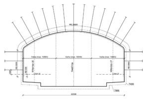 Metro station profile