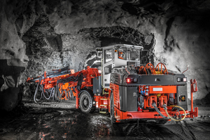 """<div class=""""bildtext_en"""">Tunneling jumbos like this Sandvik DT 922i are used for tunnelling projects around the world 