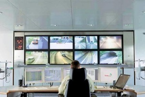 Example for recent improvements: tunnel control centre<br />