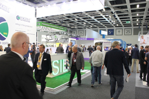 "<div class=""bildtext_en"">Exhibition hall 5² at the InnoTrans in Berlin was reserved for the ""Tunnel Construction"" fair segment. Altogether, around 145 000 trade visitors attend the transport technology fair</div>"