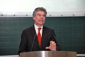 "<div class=""bildtext_en"">Prof. Konrad Bergmeister delivering his speech at the ceremony</div>"