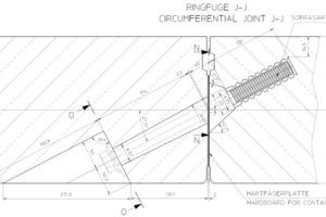 """<div class=""""bildunterschrift_en"""">Cross section of joint details with bolt and gasket</div>"""