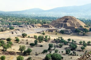 Impressive testimonies of a former well-developed Aztec culture<br />
