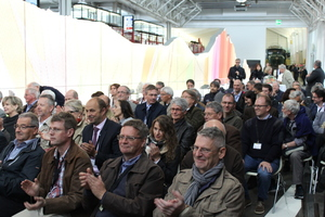 """<div class=""""bildtext_en"""">More than 150 guests took part in the presentation of the book in the Swiss Transport Museum 