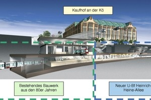 13 Kaufhof on the Kö with underground station<br />