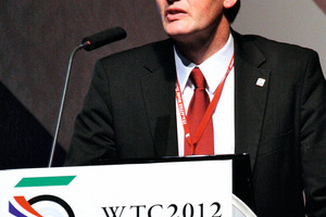 """<div class=""""bildunterschrift_en"""">ITA vice-president Professor Markus Thewes chaired the first part of the Open Session at which the ITA Working Groups presented their results</div>"""