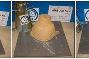 6Slump results of soil B with FIR = 10 % (1), FIR = 20 % (2) and FIR = 30 % (3)<br /><br />