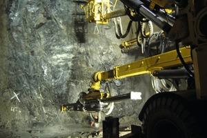 4 Bohrarbeiten im Kroksbergtunnel<br />