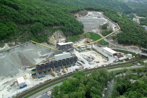 4  Sigirino installation yard for building the Ceneri Base Tunnel<br />