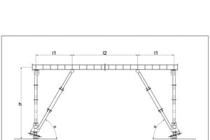 """<div class=""""bildtext_en"""">Separated support prop/V-support of formwork carriage for cut-and-cover tunnels</div>"""