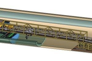 Sohlbrücke – eingesetzt beim Bau des Reitersbergtunnels <br />