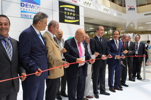 "<div class=""bildtext_en"">Opening ceremony for the joint Tunnel and Mining Expo in Istanbul</div>"