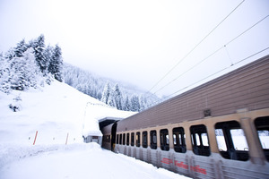 "<div class=""bildtext_en"">The Rhaetian Railway's Vereina Tunnel will also provide district-heating apart from acting as an all-year round transport link as from 2015: water gushing forth at the north portal is to be exploited for generating geothermal energy</div>"