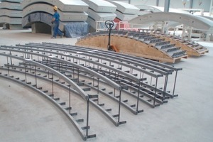 A pair of anchor rails as delivered<br />