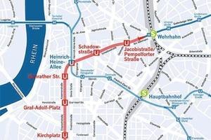 2Wehrhahn Line route<br />
